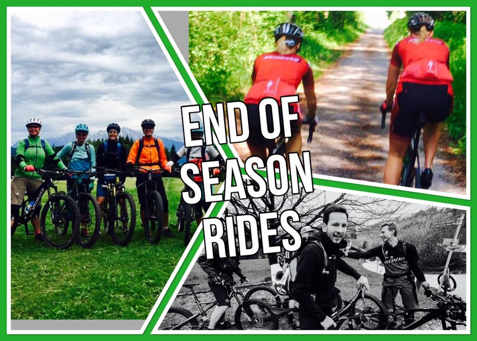 End of Season Ride